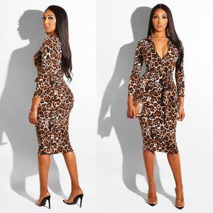 Neues Frauenkleid Art und Weise Sommer Herbst und Europa Netz rot Explosion Modelle gedruckt Reißverschluss Band gedruckt Kleid-Größe S-XL