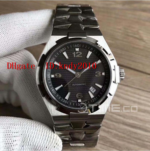 JJ Factory 42mm Overseas 47040 Mens Watches Stainless Steel Wristwatches Sapphire Crystal Water Resistant Miyota 9015 Automatic Watches