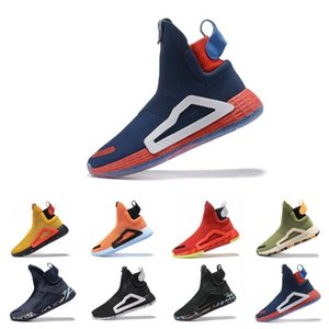 N3XT L3V3L blanc crème Bahia léger capitaine Gum PE Hommes chaussures de basket-ball pour les bottes hommes le sport baskets Designer Ville Chaussette Chaussures Taille 46