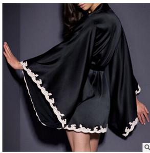 Pajama Femme Lingeries Standing Buono della camicia da notte di sonno pigiami Gown Robe Underwear Femme Camicie da notte degli indumenti donna Sleepwear