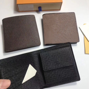 cuir gros portefeuille de court classique pour hommes haut femmes de la bourse de pièces de qualité porte-monnaie classique de porte-cartes porte-monnaie d'argent de poche à fermeture éclair pour homme