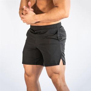 Nuevos hombre de la moda Deportes casual Pantalones cortos que vara los pantalones cortos Sweatshorts físico culturismo hombres cortos de gimnasia Joggers Pantalones cortos