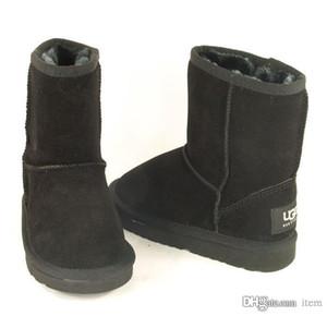Invierno 5281 niños Australia botas para la nieve pequeño burro zapatos de algodón niño inferior suave niños y niñas de las botas de invierno 5281 botas de nieve