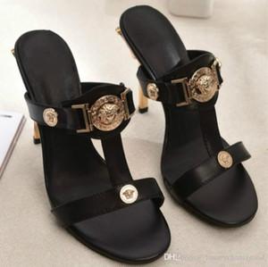 zapatos de tacón alto de gama alta sandalias personalizados 35-41 de moda europea de promoción fabricantes de zapatos casuales estación de alta calidad (con la caja)