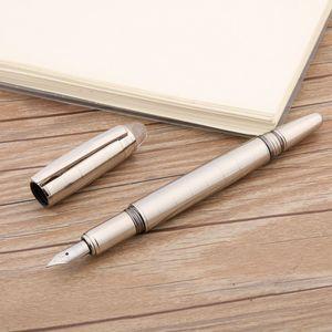 новая классическая мода твист Хрустальная головка новый серебристый зажим из нержавеющей стали сетчатая перьевая ручка
