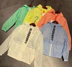 sıcak satış yeni Çocuk Ultra hafif Hızlı Kuru güneş koruması Anti-UV Açık Ceket Erkekler Kızlar yürüyüş kamp Çocuk Coat Güneş ceketler