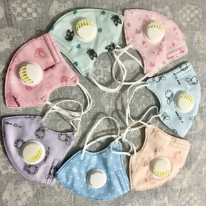 Children fashion carton face mask Filter anti dust gas Hygiene mouth Mask Cotton Reusable masks with value germ protection for kids withdhl