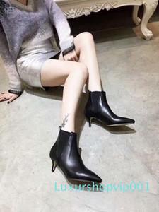 Los mejores zapatos del diseñador, las botas puntiagudas de novia más popular italiana corte cuchillo cuero cara del partido, zapatos de moda estilete resistentes al desgaste
