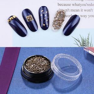 1 Box ногтей Алмазный наклейки Pro Nail украшения Блестки хрустальные аксессуары блестки высокосортных Декоративные металлы