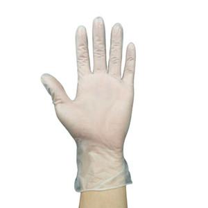 100 Tek Kullanımlık Şeffaf Vinil PVC Eldiven Toz Lateks Ücretsiz Temizleme Spa Kuaför