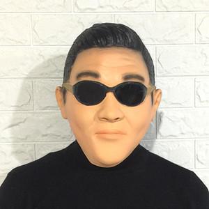 Maschera di vendita calda famoso Super Star Gangnam Style PSY Maschere Cosplay Halloween Party personalizzato per dimensioni uomini e le donne cosplay bambini gratis