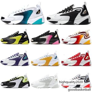 Zoom 2K Dynamic Yellow M2k Tekno Running Shoes Men Women Triple Black White University Red casual Mens Trainers Sports Sneakers