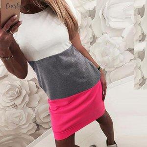 Dress Womens Short Sleeve Dress Bodycon Evening Party Short Beach Mini Dress Jurk Robe Y504 Designer Clothes