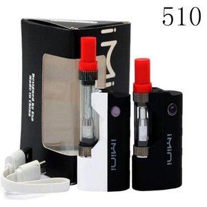 box mod 510 cartridge e cigarette preheat VV mod vaporizer kit honey oil smoking kit bud touch pen vaporizer DHL free shipping top seller