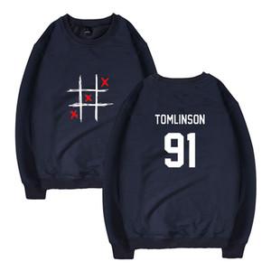 Louis Tomlinson Толстовки с капюшоном мужчины женщины хип-хоп уличный стиль Толстовки пуловеры повседневная с длинным рукавом топы Harajuku Толстовки