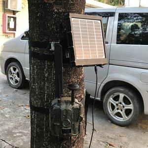 4G Av Kamera Av Kameralar için Güneş Paneli Güneş Enerjisi Şarj