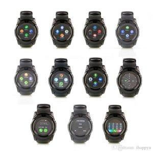 V8 relojes del reloj de Bluetooth inteligente de SIM del teléfono Cámara 0.3M MTK6261D ajuste móvil inteligente con la tarjeta de 32G SD para el teléfono Android de Samsung S9