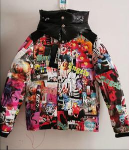 Invierno doudoun Abajo chaqueta para hombre de la chaqueta de las capas con la letra patrón caliente Marca chaquetas para hombre Parkas mujer para hombre Top Clothings #it