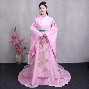 Costumes de Cosplay Ancienne Fée Hanfu Carnaval Déguisements pour Filles Princesse Stage Wear Dynastie Tang Beautiful Women Dance Clothing