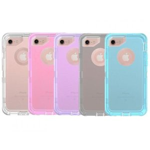 3 in 1 defender Clear Robot iPhone 용 Defender 케이스 XS XR XS MAX 8 7 6 Plus