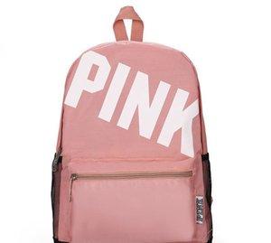 Nova Rosa Designer mochila para Mulheres Meninas Back Pack Sacos para senhoras Oxford Casual Mochilas de mulher frete grátis Drop Shipping