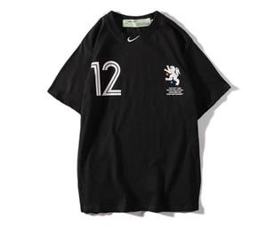 Kapalı OW nombre conjunto parodia büyük kanca camisa de fútbol águila masculina hombres y mujeres amantes de la camiseta de manga corta camiş