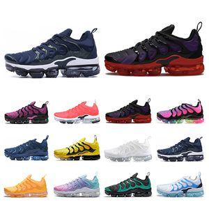 Top Qaulity 2020 Lauf TN Plus-Schuhe für Männer Frauen Marke Sport-Turnschuhe der Männer Trianers Lichtstrom Blau Be True Spannung lila