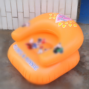 Juguete para niños Sofá Inflable Bebé Niño Inflable Baño Sofá Silla Asiento Aprenda Portable Multifuncional YH-17