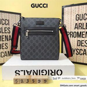 Style man Shoulder zipper Animal pattern crossbody handbag Messenger bag 523599 21x23.5x4.5
