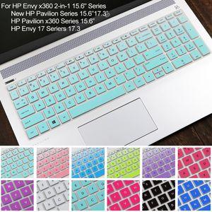 Silikon Klavye Cilt Kapak Hp Envy X360 Için 2-in-1 15.6, Yeni Pavilion 15.6 17.3, Pavilion X360 15.6, Envy 17 Seriers 17.3 T190619