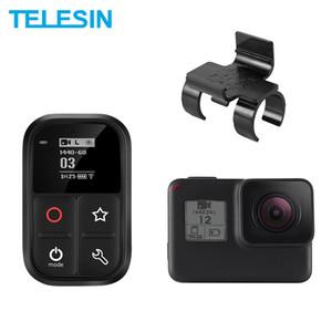 TELESIN Wasserdicht Wifi Fernbedienung Selbstleuchtende OLED-Set und Shortcut-Taste + Lock-Einfassung für GoPro Helden 8 7 6 5 3 + 4 Session T200620