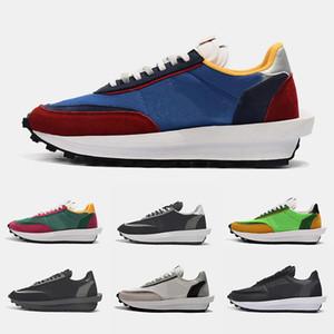 Nike LDWaffle x Sacai Waffle Daybreak Double Swoosh Scarpe casual di alta qualità Scarpe da corsa Scarpe da ginnastica Sneakers Per designer Trippa S Scarpe da corsa sportive