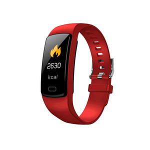 Y9 inteligente Pulseira Atividade Rastreador de Fitness banda Heart Rate Monitor de Pressão Arterial Assista pulseiras para Smartphone Smartband