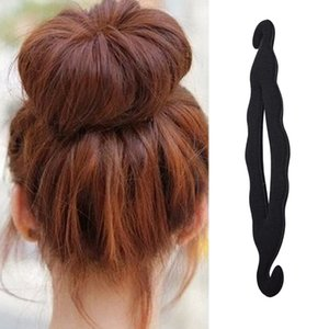 Mujeres Magic Hair Style Tool Quick Sponge Braiders Hairdisk Donut Maker Fashion Salon Tool Foam Bun Curler Hairstyle Accories