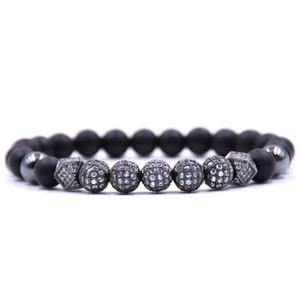 2018 popular 8mm 4 colors Volcanic lava bead Bracelets For Men&Women Bracelet Jewelry Pulsera zapestnica ranneketta