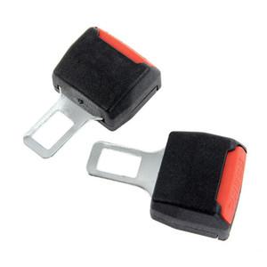 Hot 4pcs voiture de sécurité universelle clip ceinture de sécurité réglable Extender Extension Ceintures de sécurité noir et Rembourrage