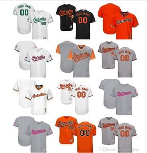 Özel Baltimores Beyzbol Orioles 35 Dwight Smith Jr 14 Rio Ruiz 17 Alex Cobb 47John Means Stevie WiIkerson Pedro Severi Turuncu Beyaz