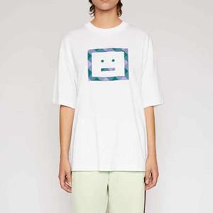 Las mujeres 2020 del diseñador estudios acné sombrero a estrenar del verano de la manera camisetas de algodón Chiara Ferragni de las lentejuelas del acné casquillo del estilo hombres de las camisetas de punto