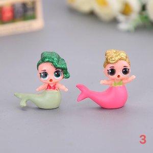 4pcs / set SORPRESA! LOL Muñecas Juguetes para niñas DIY Sorpresa Mermaid Doll Juguetes para niñas. # ccj3