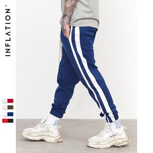 ENFLASYON Moda Marka Kadınlar Erkek Jogger Pantolon Lüks İpli Spor Pantolon 5 Renk Yan Çizgili Üst Kalite Tasarımcı Koşucular Yoga Pantolon