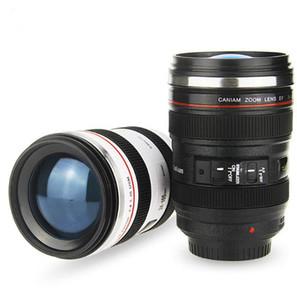 6ème génération créative 400ml Liner en acier inoxydable voyage thermique lentille de la caméra tasse de café de tasses avec couvercle de capot caniam