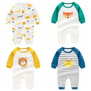 infant baby rompers long sleeve jumpsuit newborn clothes spring autumn pajamas baby girl boy clothes baby play