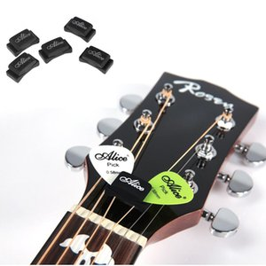 5pcs Black Rubber Guitar Pick Holder Fix on Headstock for Guitar Bass Ukulele Free Shipping - Alice