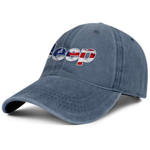 efeito elegante JEEP 3D bandeira americana logotipo Wrangler Boné de beisebol Unisex Denim em branco Custom Hats Jeep compra nova de ouro de flash jipe para venda de carro