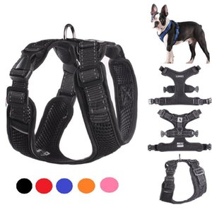 Pet Dog Harness For Pitbull Reflective Safety Harnesses Dogs Sport No Pull Vest Husky Adjustable Pet Training Product Chihuahua