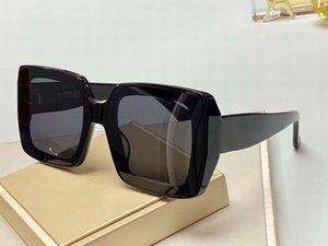 Fashion Women Square Sunglasses Black Grey Lenses m71 Gafas de sol Women luxury glasses designer sunglasses Shades New with box