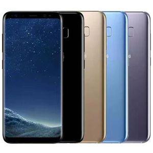 Recuperado Original Samsung Galaxy S8 + S8 Além disso G955F G955U 4G 6,2 polegadas 1pcs Octa Núcleo 4GB RAM 64GB ROM 12MP 3500mAh telefone móvel esperto DHL