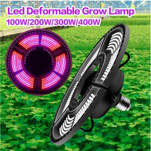 E27 LED가 빛 E26는 박스 식물 램프 400W 높은 전원 Led 전체 스펙트럼 실내 조명 전구 AC100-277V 수경 식물 빛을 성장 성장