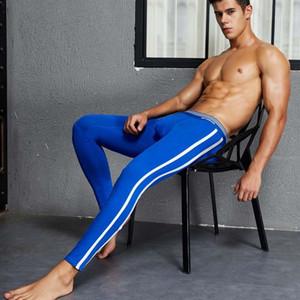 Yehan Uzun Johns Homme Katı Termal Iç Çamaşırı Alt Erkekler Pamuk Tayt Legging Kış Iç Aşınma Termal Pantolon Erkekler Artı Boyutu