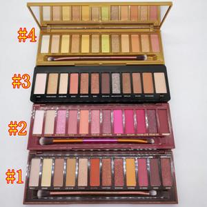 Palette de maquillage de miel de maquillage de miel 12 couleurs rechargées ombres à paupières SHIMMER Matte Eye Shadow Beauty Palettes DHL Livraison gratuite